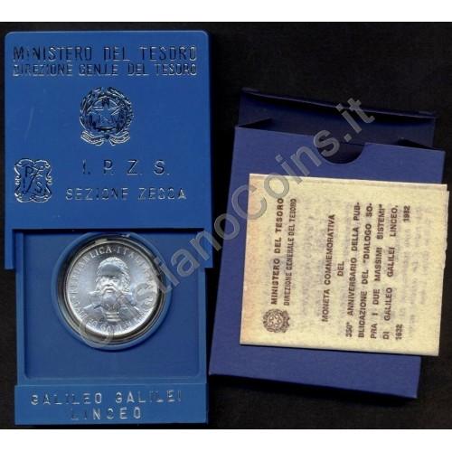 500 LIRE 1982 AG GALILEI