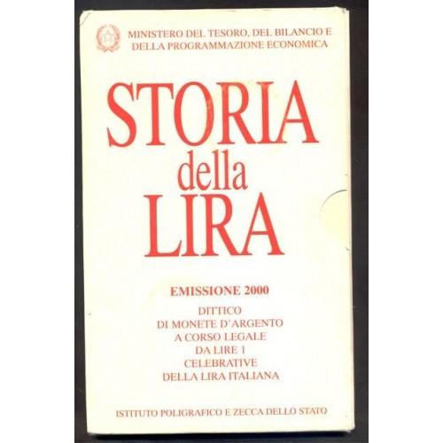 STORIA DELLA LIRA DITTICO...
