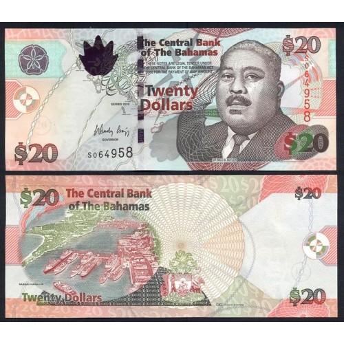 BAHAMAS 20 Dollars 2010