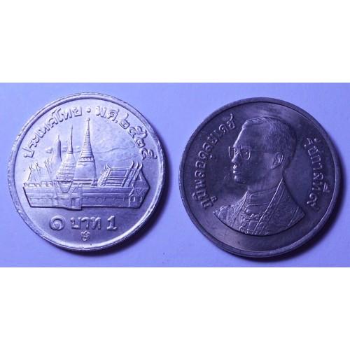 THAILAND 1 Baht 1982 (BE2525)