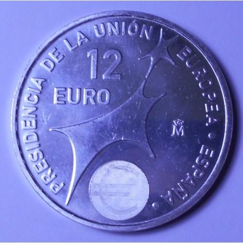 SPAIN 12 Euro 2002 European...