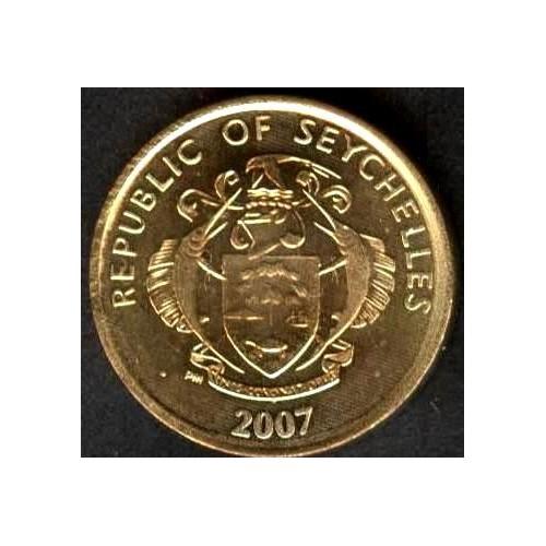 SEYCHELLES 5 Cents 2007