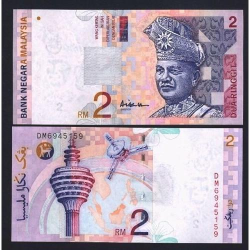 MALAYSIA 2 Ringgit 1996