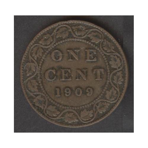 CANADA 1 Cent 1909