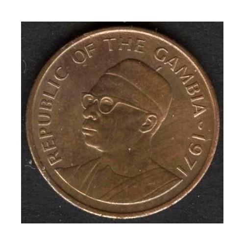 GAMBIA 1 Butut 1971