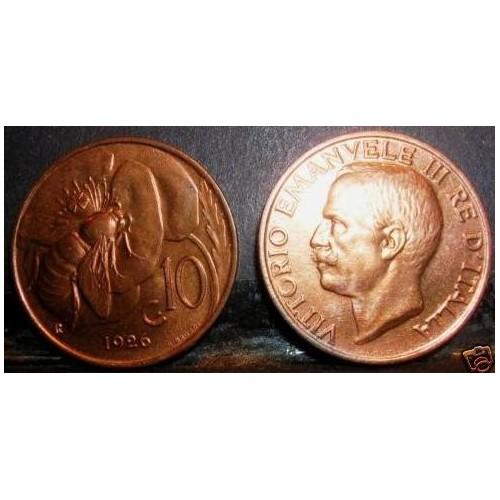 10 Centesimi 1926