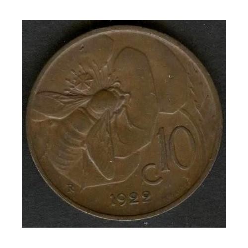 10 Centesimi 1922