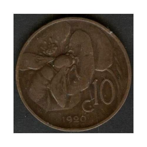 10 Centesimi 1920