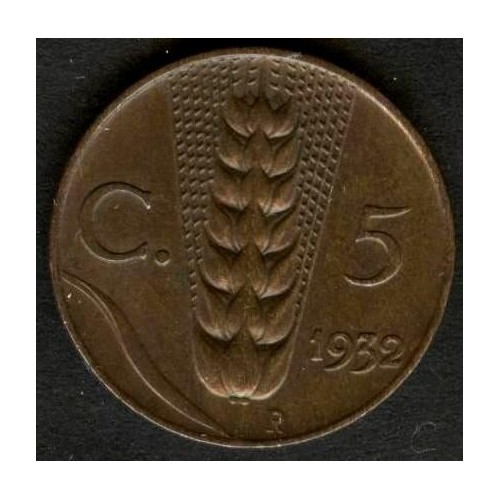 5 Centesimi 1932