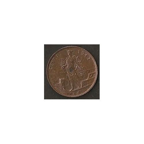 1 Centesimo 1917
