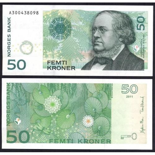 NORWAY 50 Kroner 2011