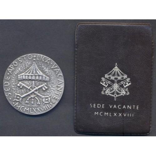 MEDAGLIA SEDE VACANTE 1978...