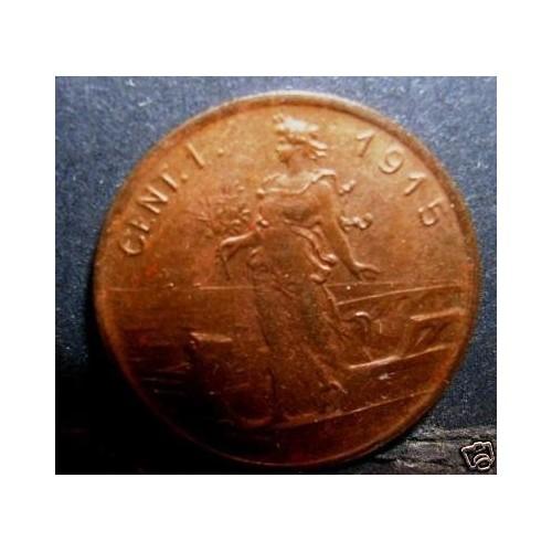 1 Centesimo 1915