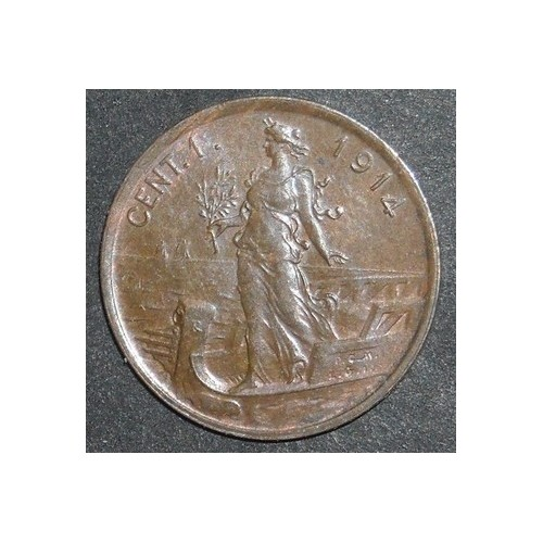 1 Centesimo 1914