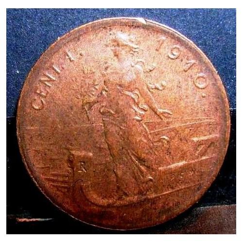 1 Centesimo 1910