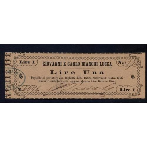 Biglietto Fiduciario 1 Lira...