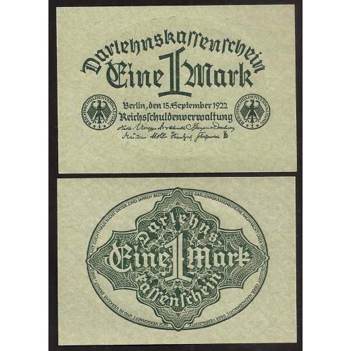 GERMANY 1 Mark 1922