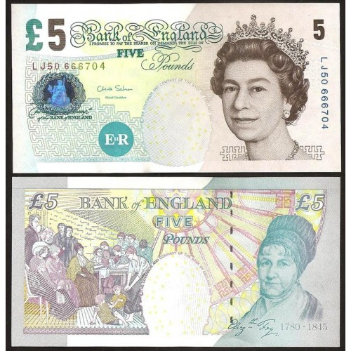 GREAT BRITAIN 5 Pounds 2012