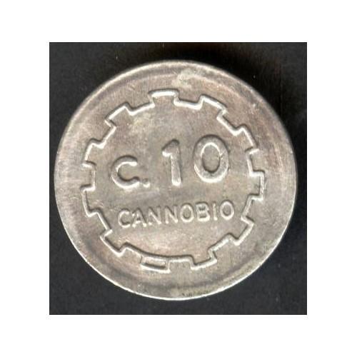 GETTONE C. 10 1944 CANNOBIO...