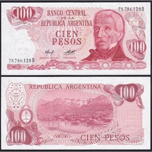 ARGENTINA 100 Pesos 1976