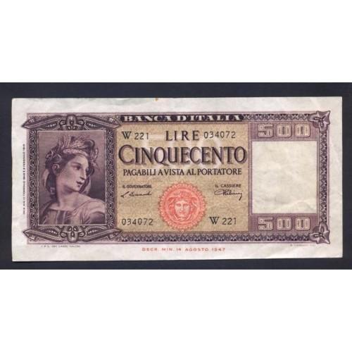 500 Lire 1948 Serie...