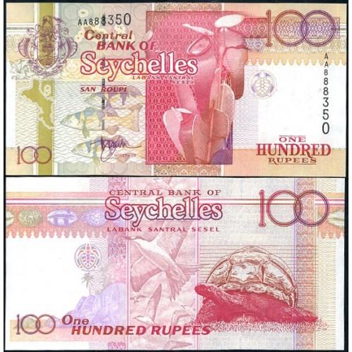 SEYCHELLES 100 Rupees 1998