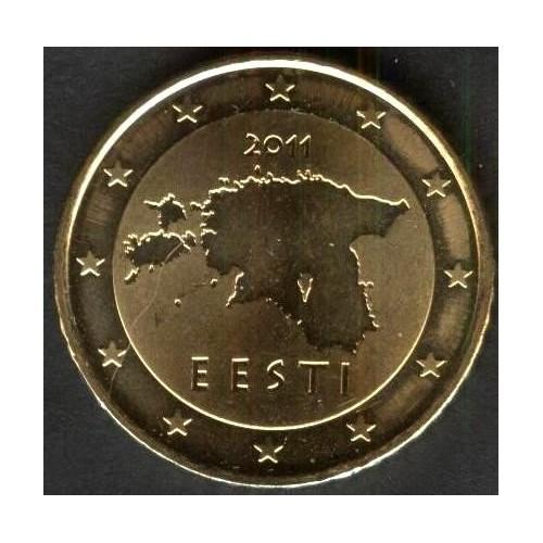 ESTONIA 50 Euro Cent 2011