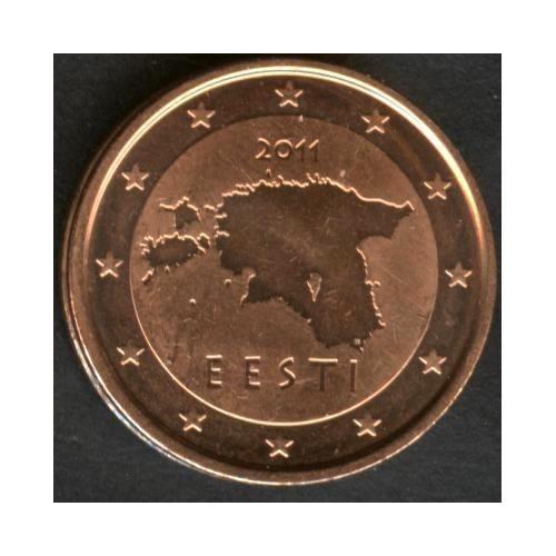 ESTONIA 2 Euro Cent 2011