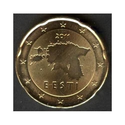 ESTONIA 20 Euro Cent 2011