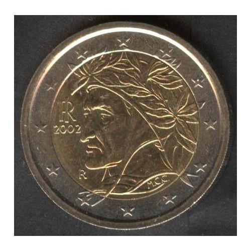 ITALIA 2 EURO 2002 DANTE