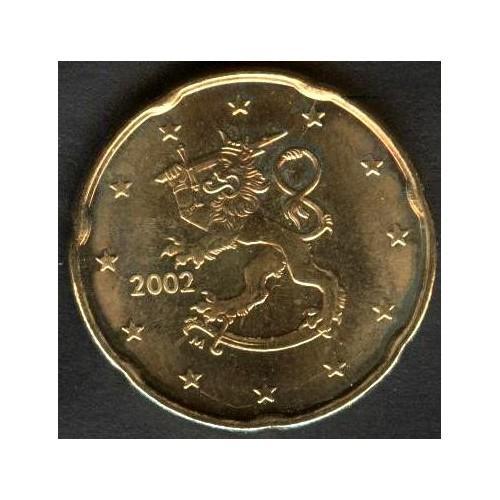 FINLAND 20 Euro Cent 2002