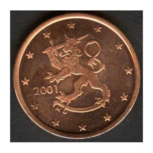 FINLAND 5 Euro Cent 2001