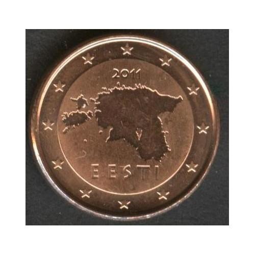 ESTONIA 1 Euro Cent 2011