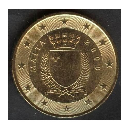 MALTA 50 Euro Cent 2008