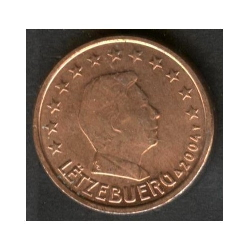 LUXEMBOURG 1 Euro Cent 2004