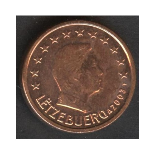 LUXEMBOURG 1 Euro Cent 2003