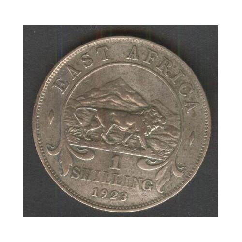 EAST AFRICA 1 Shilling 1923 AG