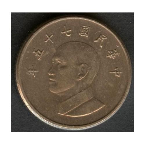 TAIWAN 1 Yuan 1996