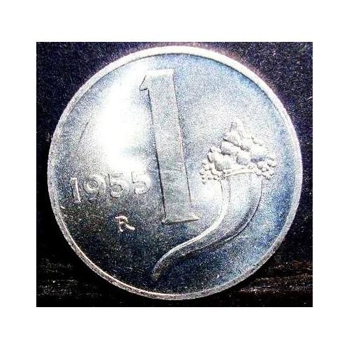 1 Lira 1955