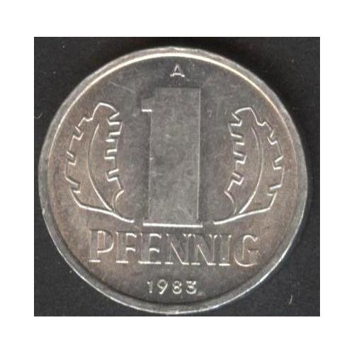 DDR 1 Pfennig 1983
