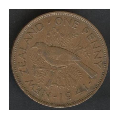 NEW ZEALAND 1 Penny 1941