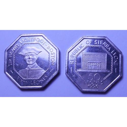 SIERRA LEONE 50 Leones 1996...