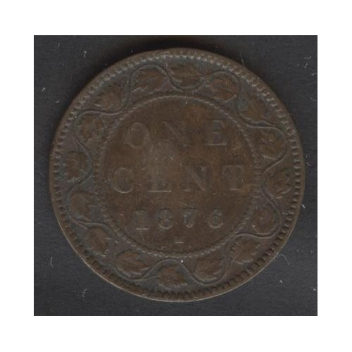 CANADA 1 Cent 1876H
