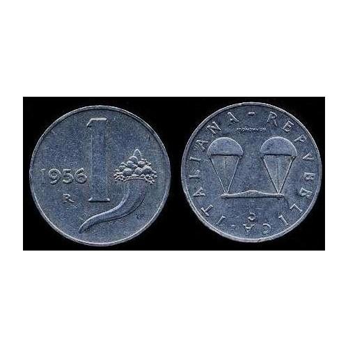 1 Lira 1956
