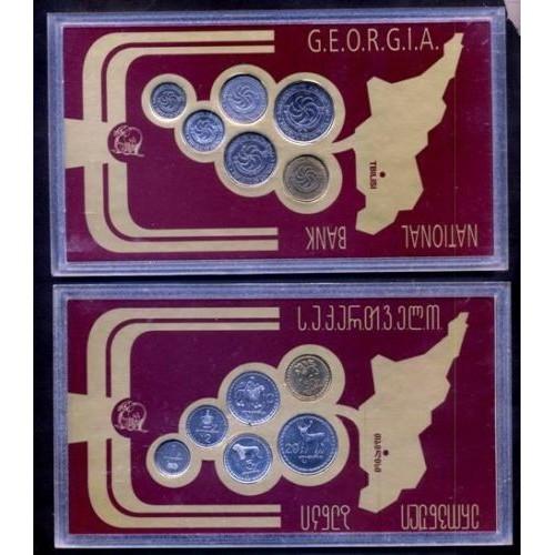 GEORGIA OFFICIAL MINT SET 1993