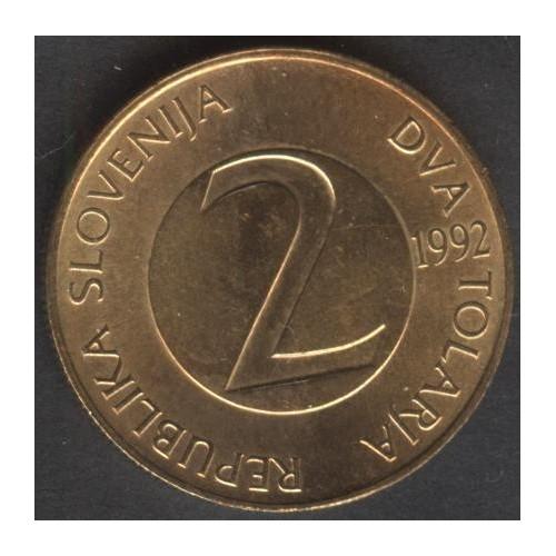 SLOVENIA 2 Tolarja 1992