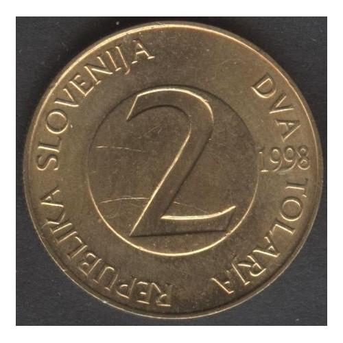 SLOVENIA 2 Tolarja 1998