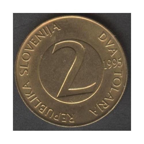 SLOVENIA 2 Tolarja 1995