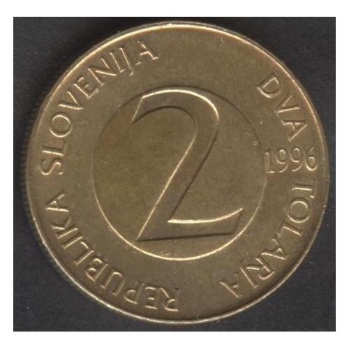 SLOVENIA 2 Tolarja 1996