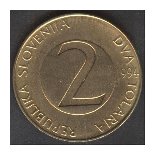 SLOVENIA 2 Tolarja 1994